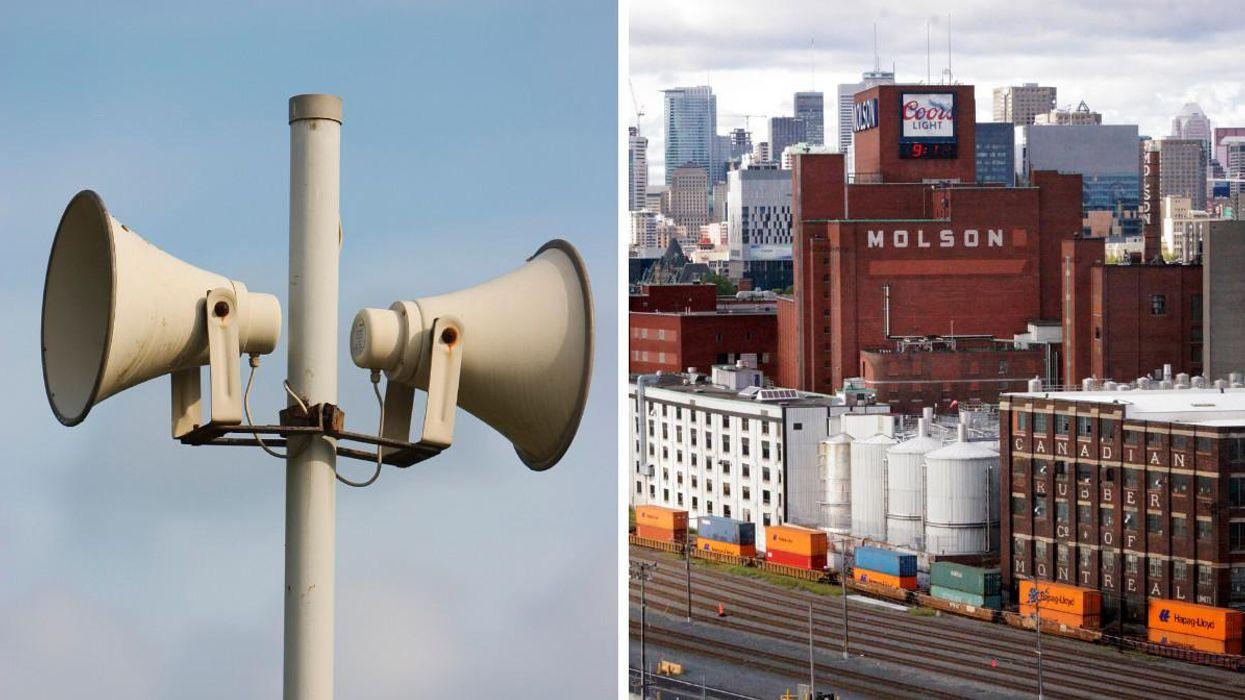 Des sirènes alarmantes vont retentir à Montréal ce week-end et voici pourquoi