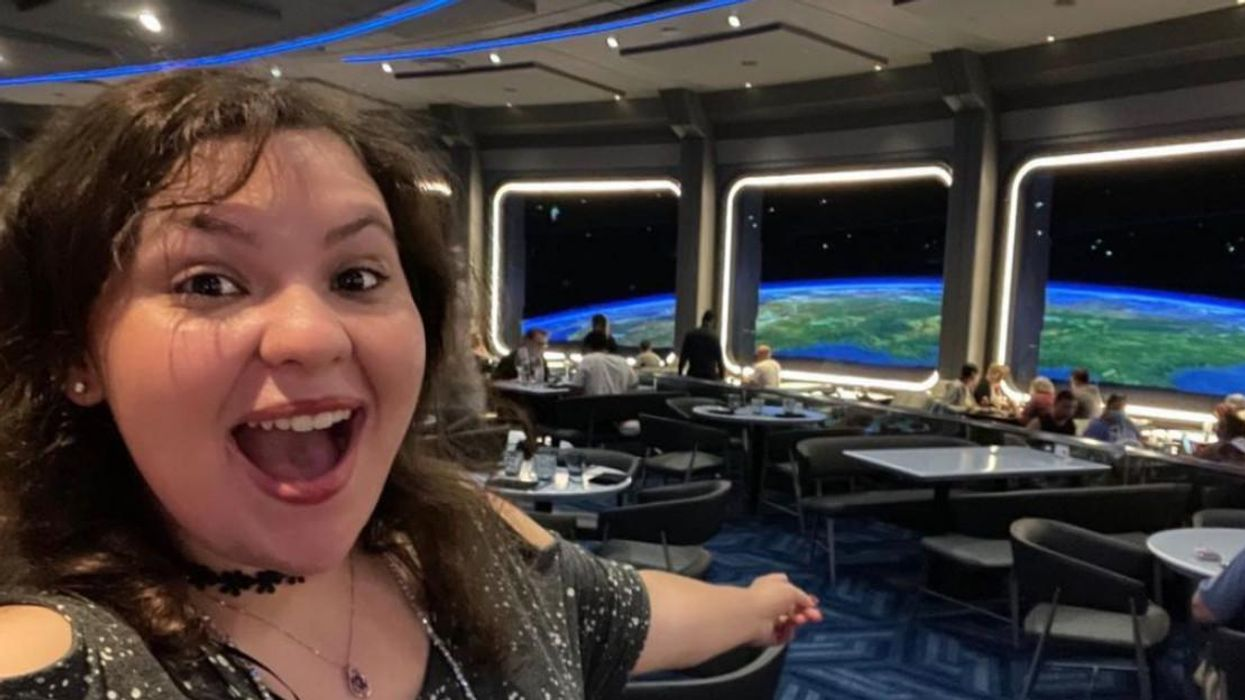 Disney's New Space 220 Restaurant Will Make You Feel Like You're Dining in Orbit Among The Stars