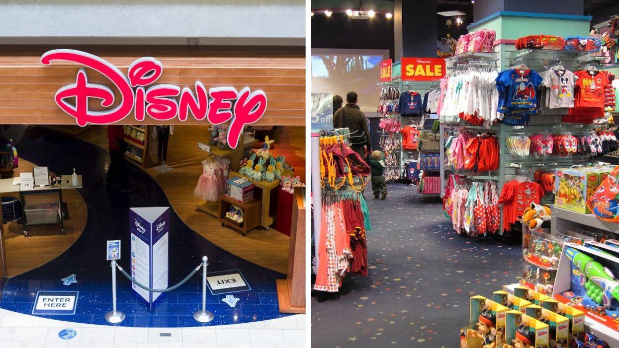 Disney Stores Are Closing In Canada & Liquidation Will Begin ASAP