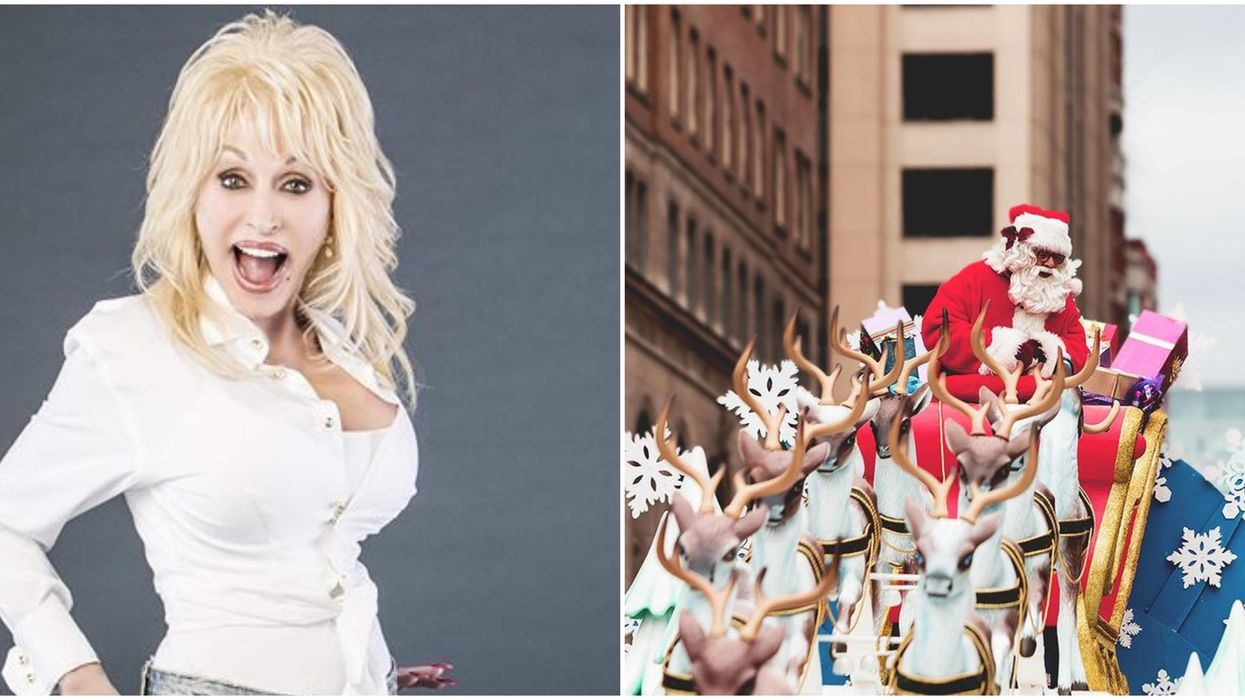 Dolly Parton Is Featuring In Toronto's Santa Clause Parade Along With A Ton Of Celebrities