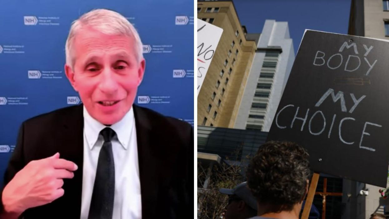 Dr. Fauci Has A Message To Canadians Who Argue Vaccine Mandates Violate Their Charter Rights