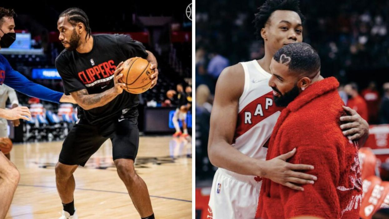 Drake Outed Kawhi's True Feelings About Toronto During Last Night's Raptors Game