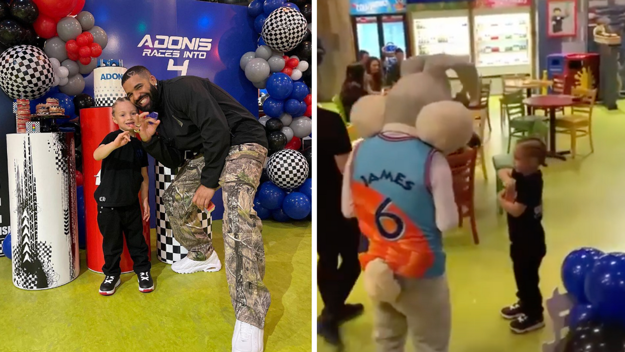 Drake's Son Adonis Just Celebrated His Birthday With His Dad & Bugs Bunny (PHOTOS)