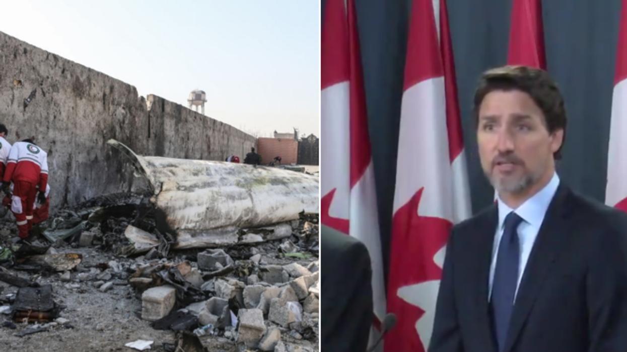 Écrasement en Iran: Justin Trudeau confirme la thèse des missiles et veut des réponses
