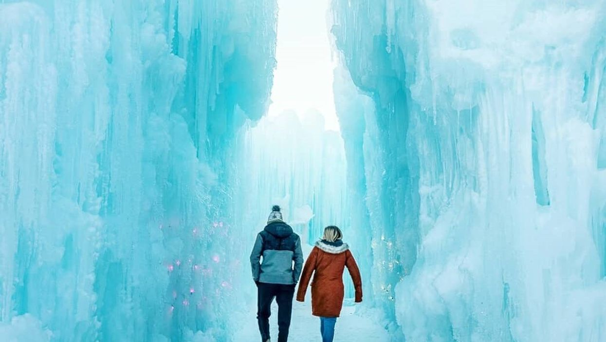 Edmonton's Ice Castles Are Closing For 2020 & It's Your Last Chance To See Them