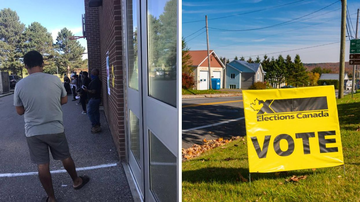 Election Day Voting In Toronto Is Currently Causing Massive Lines Across The City (PHOTOS)