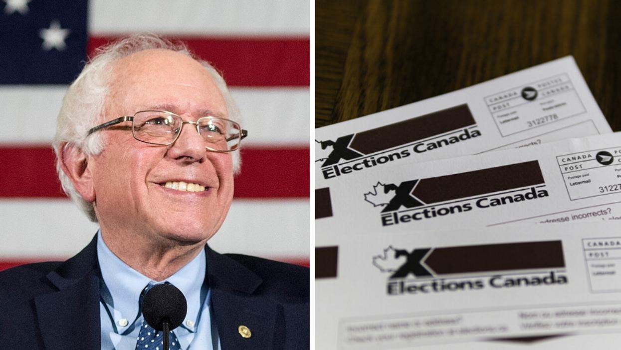 Élections Canada 2021 : Bernie Sanders révèle quel parti il soutient