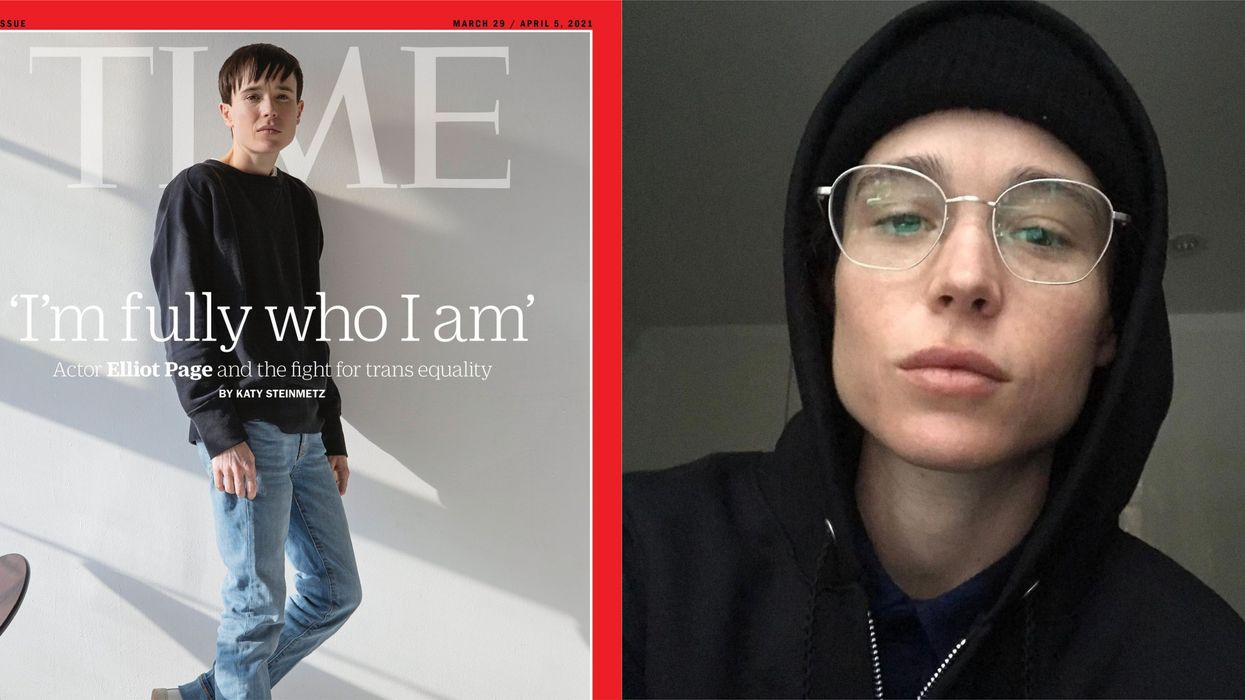 Elliot Page's TIME Magazine Cover Interview Goes Through His Journey