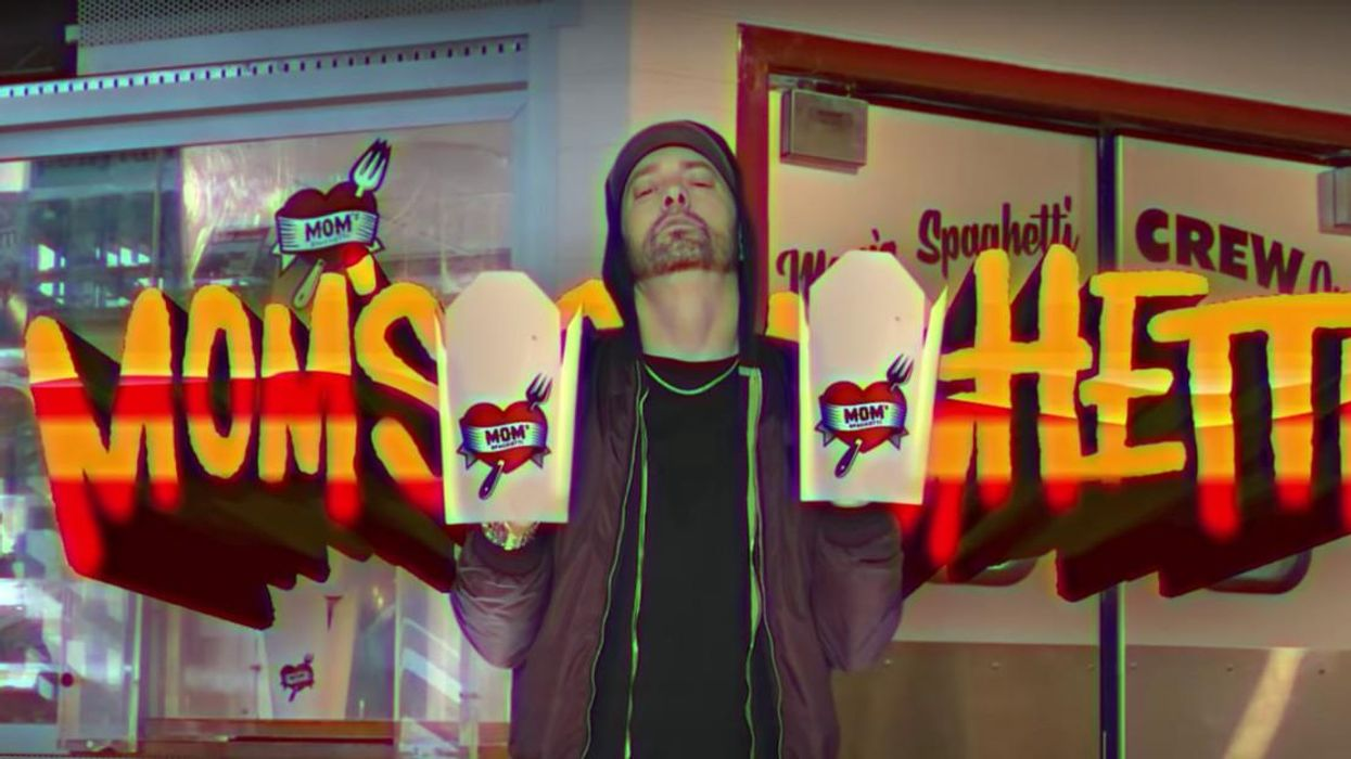 Eminem Has A New Resto Called Mom's Spaghetti & It's Just 15 Minutes From Ontario