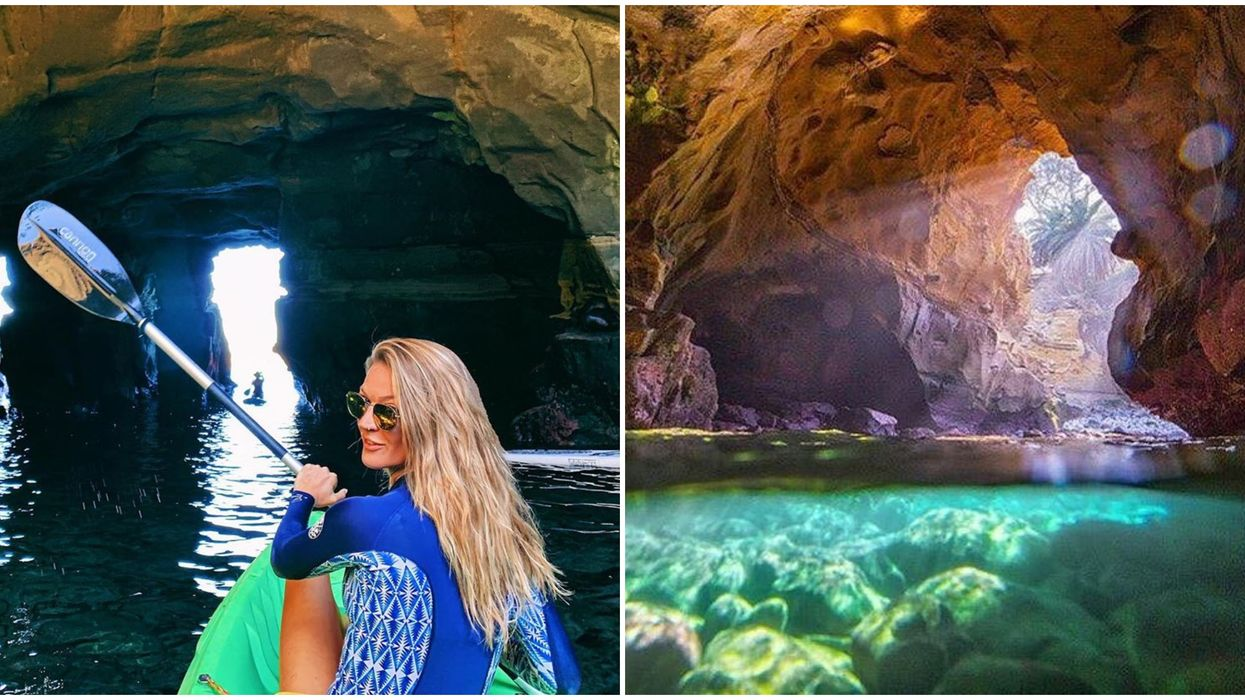 Everyday California's Groupon Deal Lets You Go On A Sea Cave Tour For Cheap