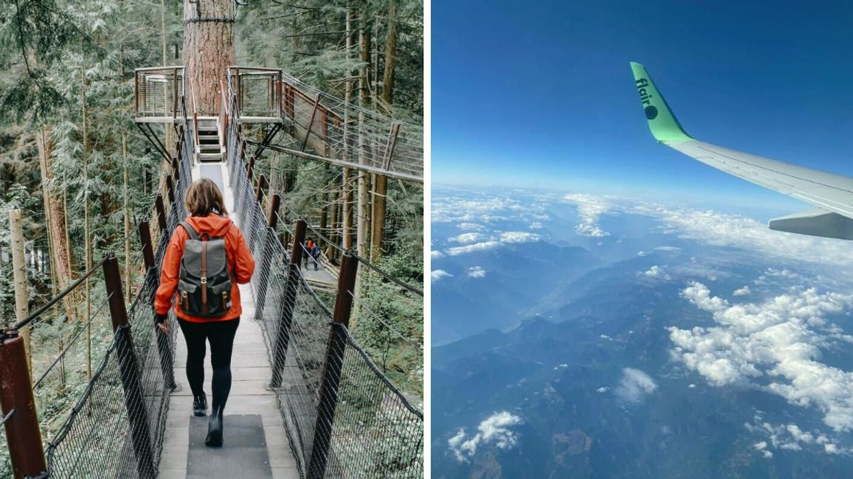 Expedia Canada Is Having A Fall Sale & You Can Fly Roundtrip From Toronto To Vancouver For Under $150