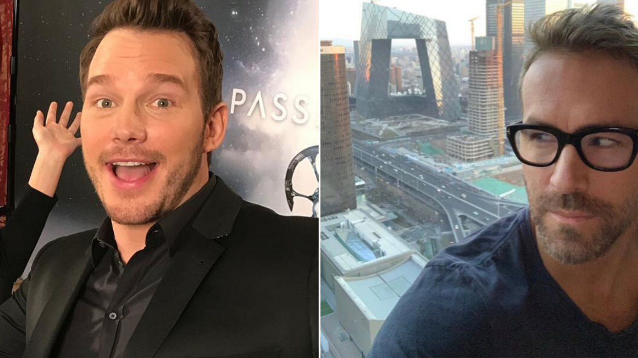 Christ Pratt Just Trash-Talked Ryan Reynolds On Twitter & His Response Is Everything