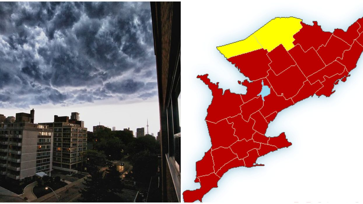 An Ontario Storm Has The Entire Southern Region Of The Province Under Weather Warnings