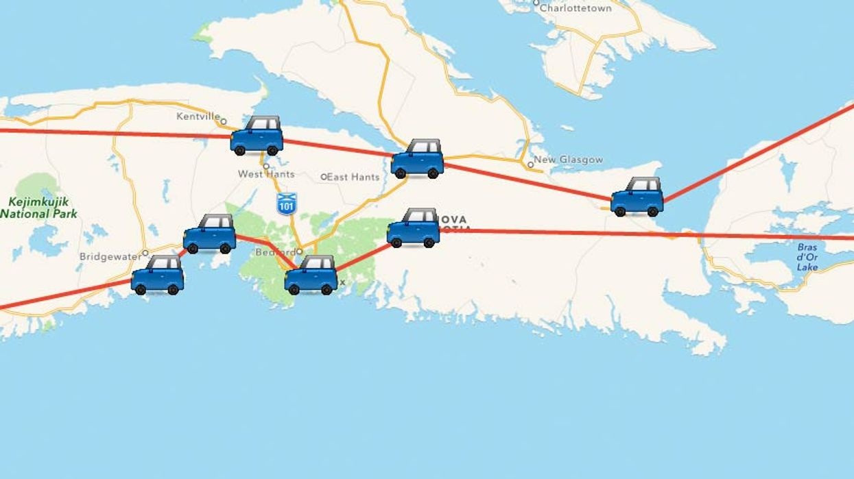 This Map Will Take You On The Ultimate Nova Scotia Road Trip In 2017