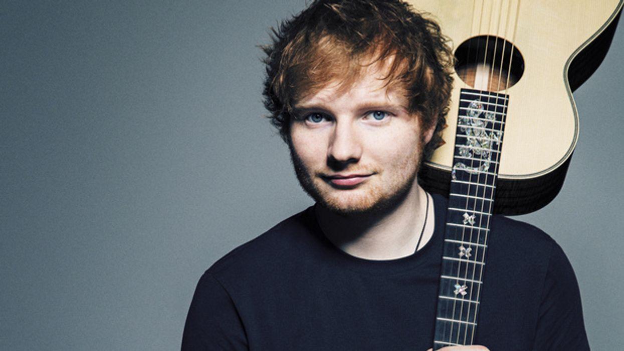 Ed Sheeran sera à Montréal cet été!