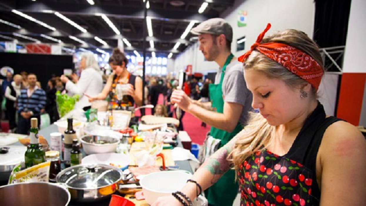 L'Expo Manger Santé commence aujourd'hui au Palais des Congrès!