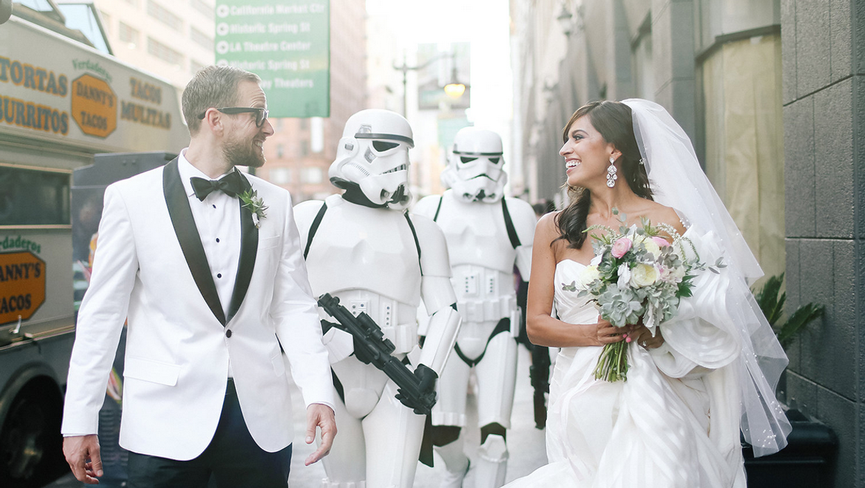 Un mariage à la Star Wars aura lieu au Commicon Montréal cet été