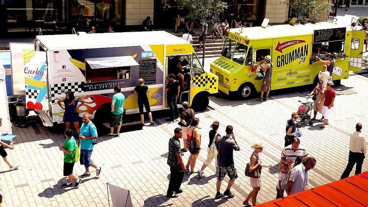 Les 40 food trucks qui seront au Parc Olympique demain sont dévoilés!