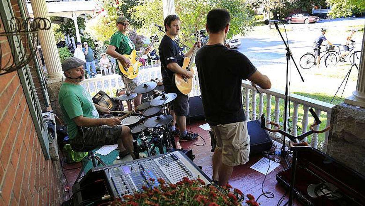 Des musiciens envahiront vos balcons ce weekend