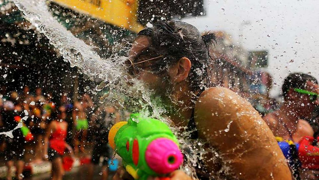 Une gigantesque bataille aux pistolets à eau aura lieu au parc Lafontaine en juillet!