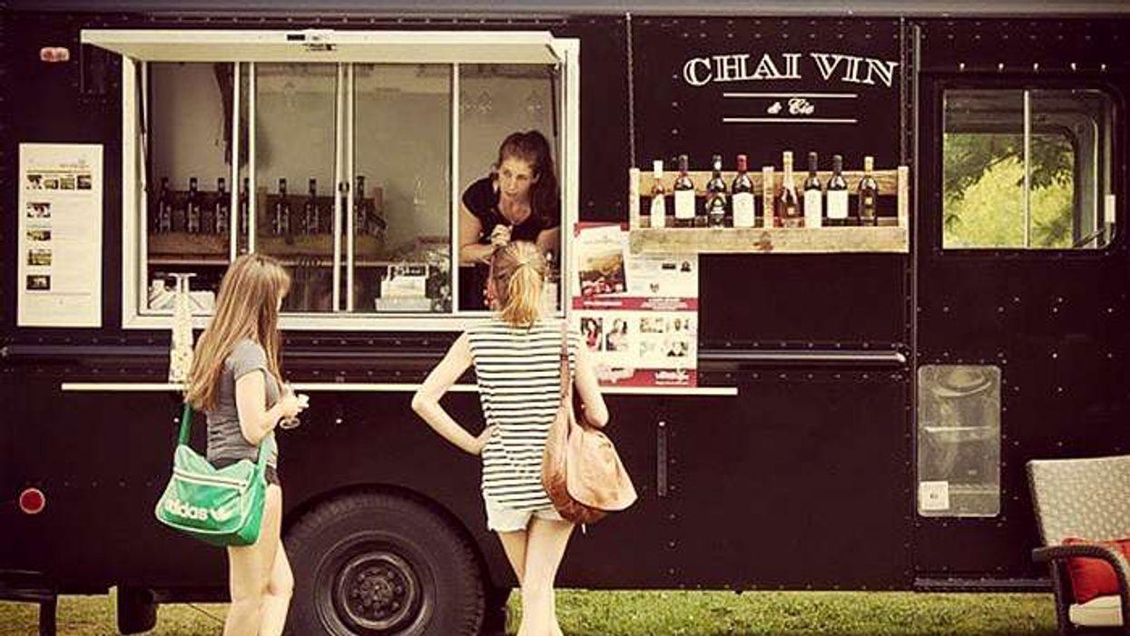 Après les food trucks de Montréal, le wine truck !