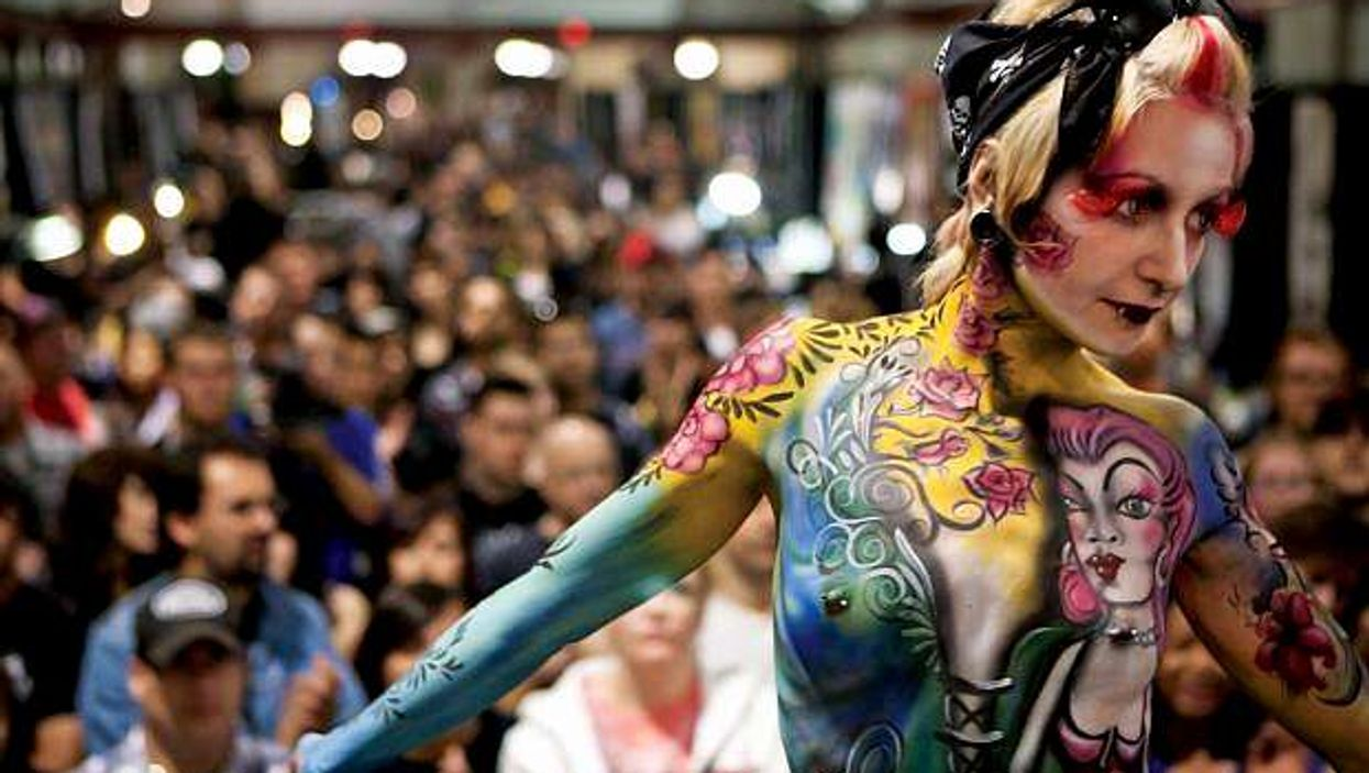 Un énorme festival de tattoo aura lieu à Montréal ce week-end !