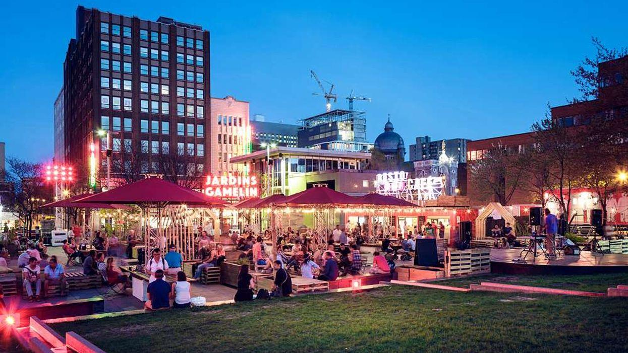 Un fou Piknic Electronik aura lieu dans un « beer garden » ce week-end!