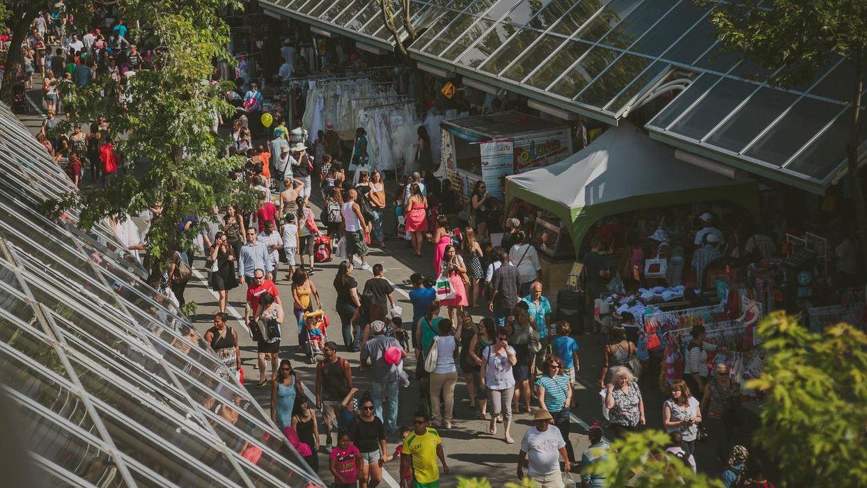 Festival de musique gratuit à ciel ouvert sur la Plaza St-Hubert en juillet