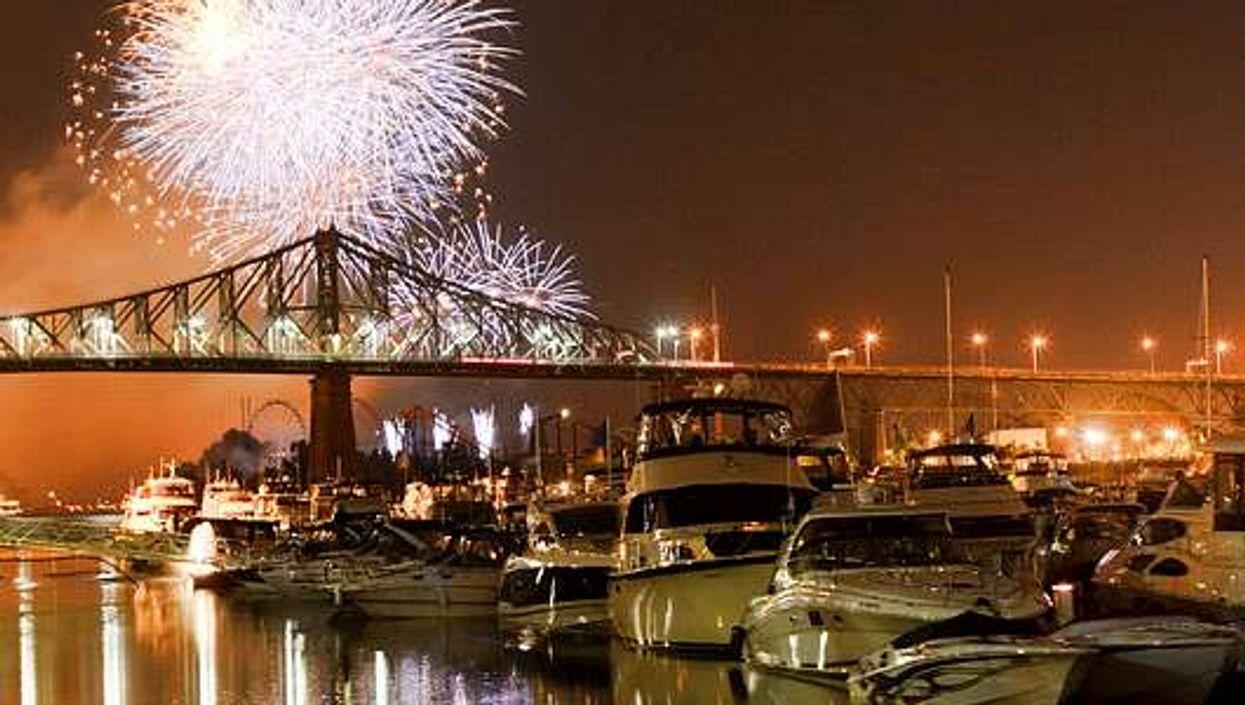 BBQ géant et feux d'artifices gratuits au Vieux-Port en juillet!