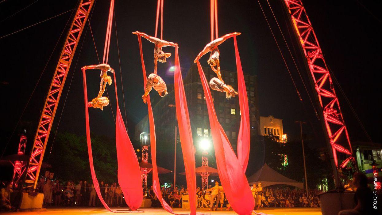 Un immense cirque extérieur gratuit sera sur l'île de Montréal la semaine prochaine!