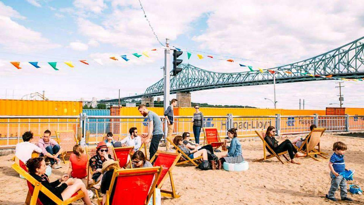 Expositions gratuites au pied du pont Jacques-Cartier prévues tout l'été