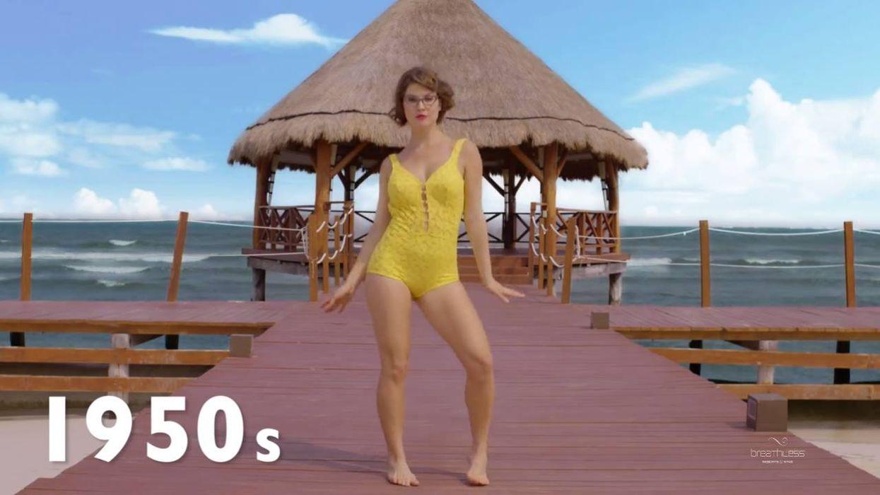 Cette vidéo sur l'évolution du bikini te donnera envie de remonter dans le temps