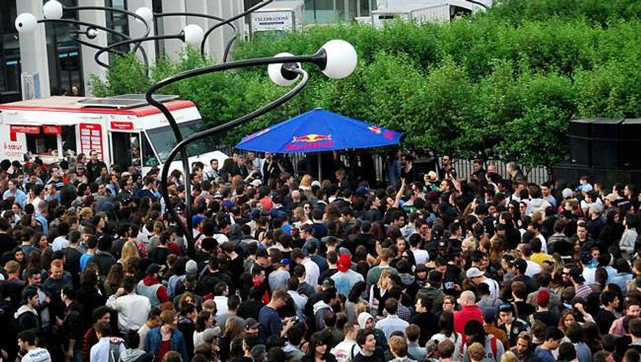 La Place des Arts se transformera en jungle pour un énorme 5 à 7 demain