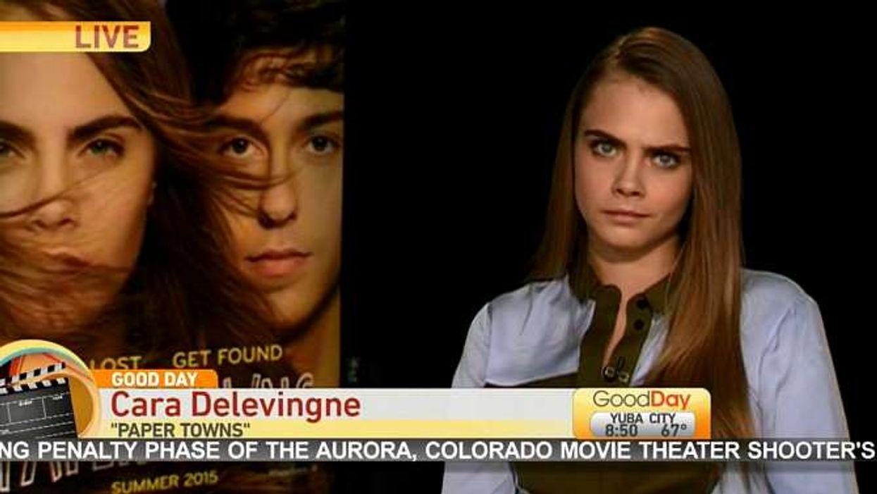 Une entrevue méprisante avec Cara Delevingne
