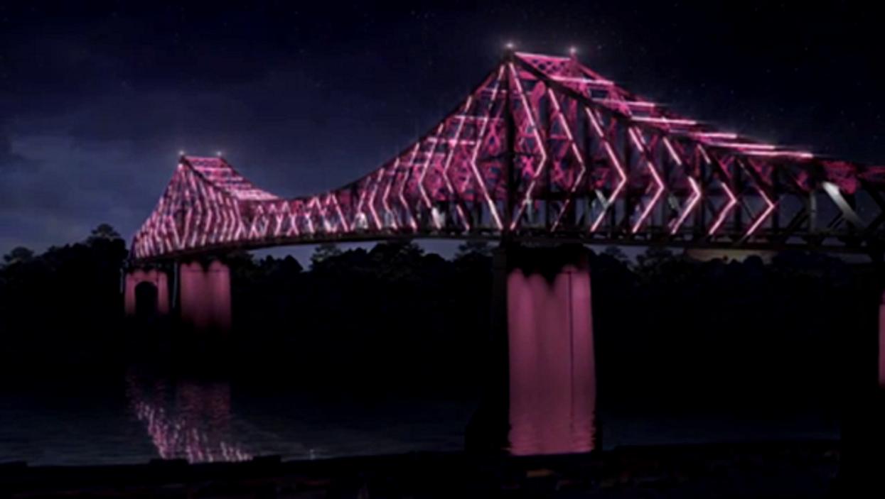 Le pont Jacques-Cartier sera illuminé pour le 375e anniversaire de Montréal