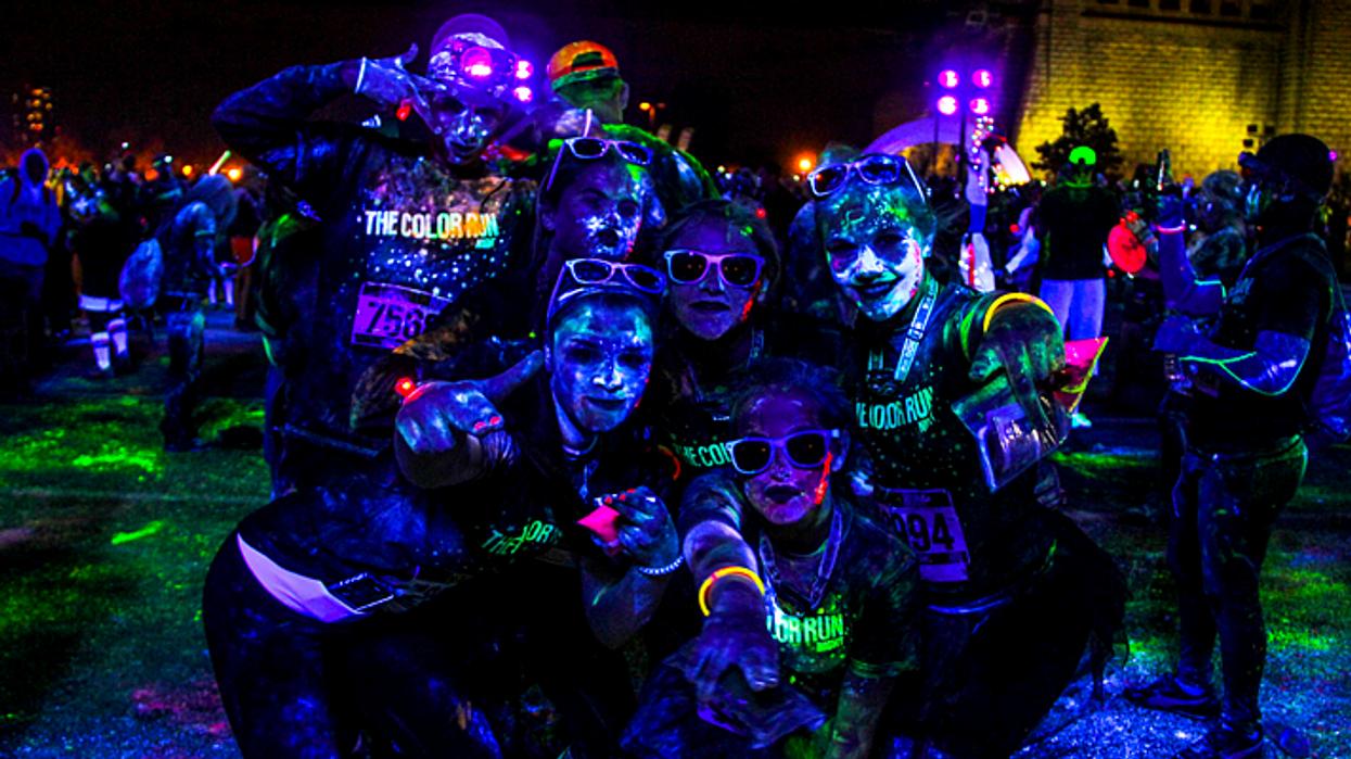 Le Color Run nocturne débarque à Montréal en septembre !