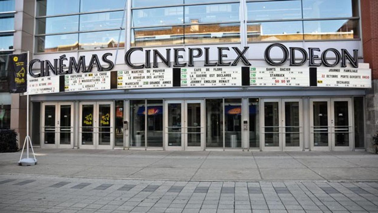 50% de rabais sur tous les films des cinémas Cineplex de Montréal cette semaine