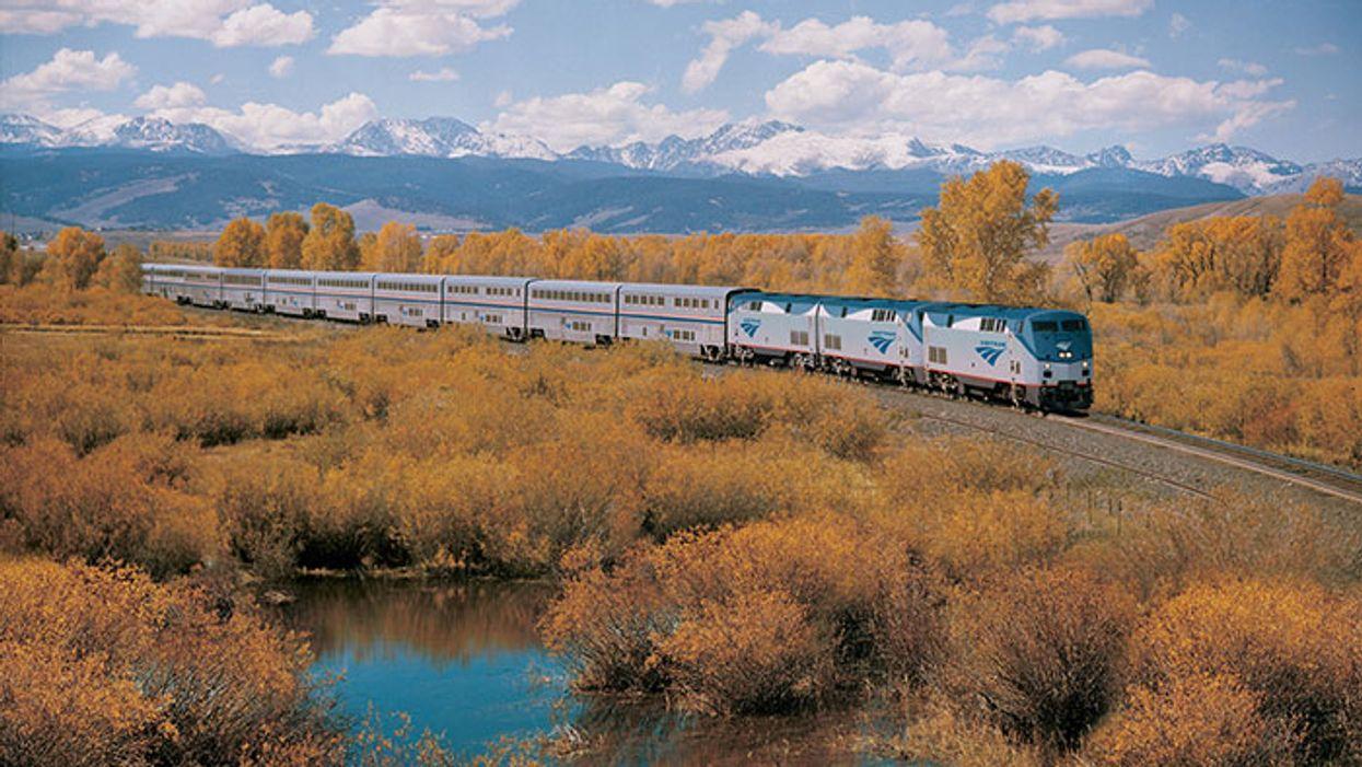 Une compagnie de train te permet de traverser les États-Unis pour 500$
