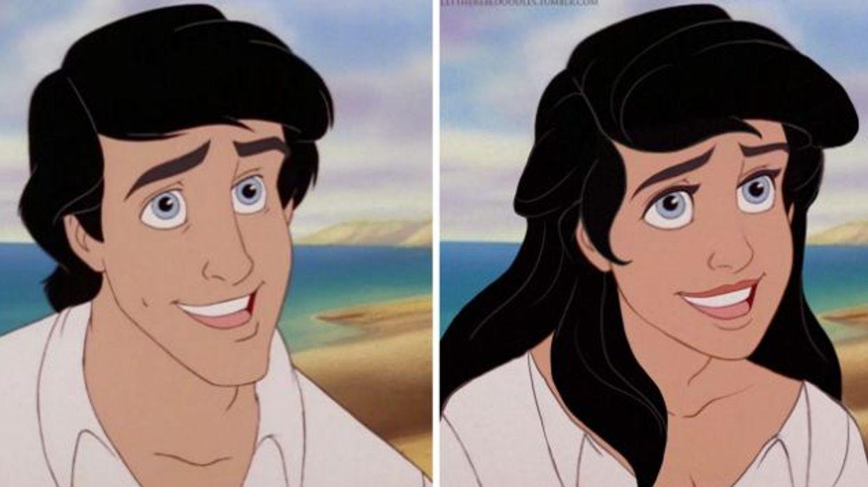 Une artiste a inversé les sexes de tes personnages de Disney préférés