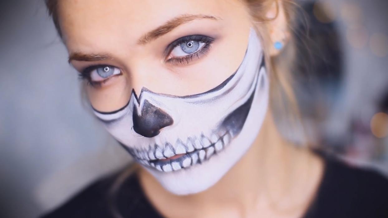 15 idées de maquillages d'Halloween de dernière minute