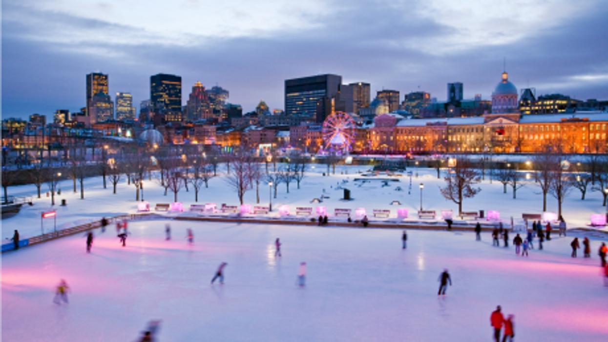 La patinoire du Vieux-Montréal ouvrira ce mois-ci!