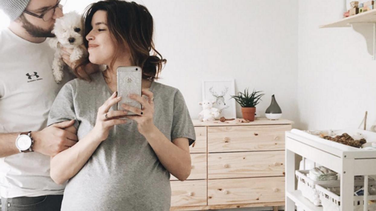 Marilou a donné naissance à son premier enfant
