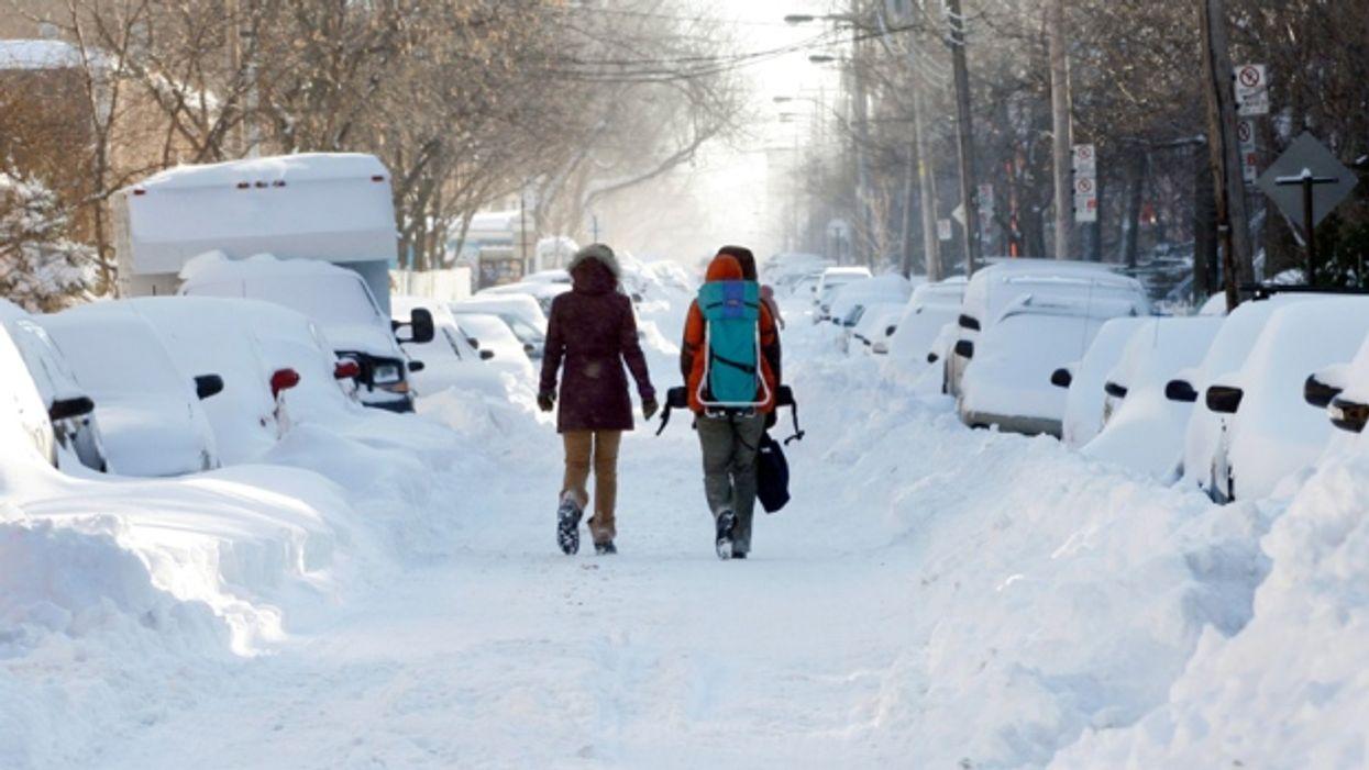 Montréal a battu son record de chute de neige