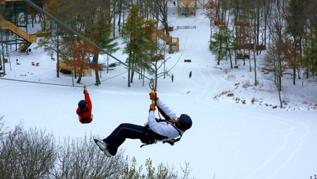 Tu pourras faire de la tyrolienne géante au Parc Jean-Drapeau dès la semaine prochaine