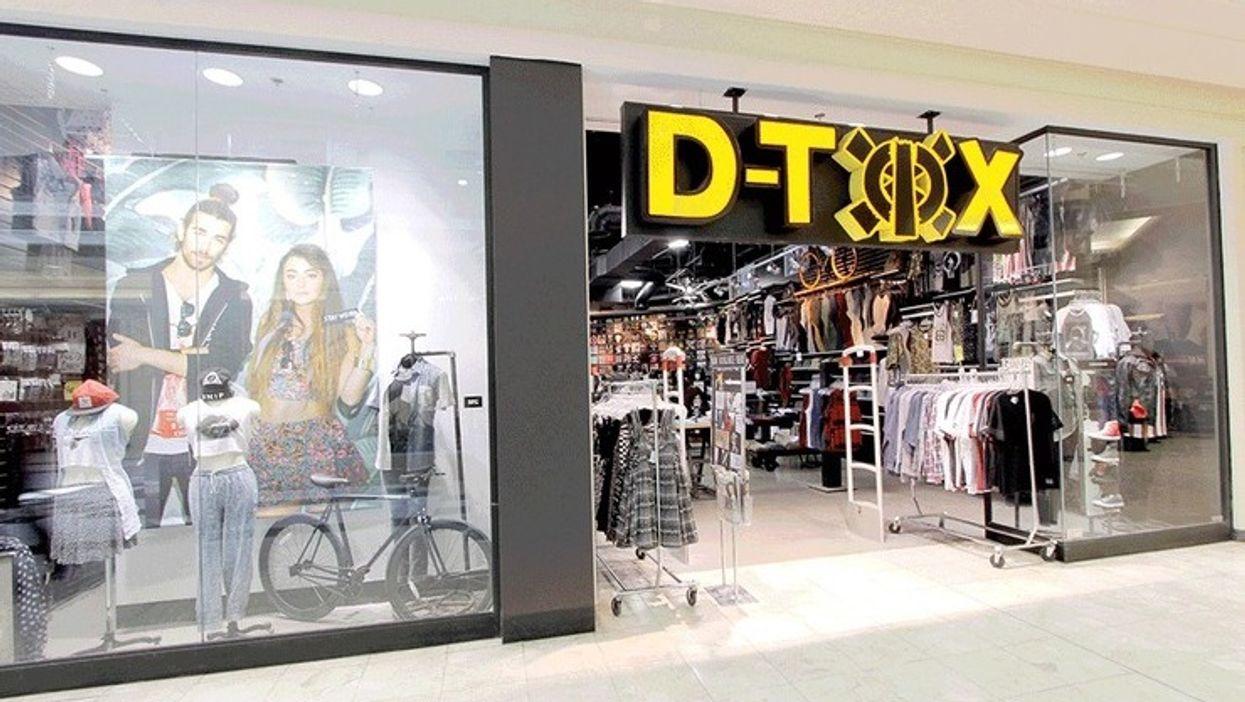 Une grande vente de fermeture a lieu dans les magasins D-Tox ce mois-ci