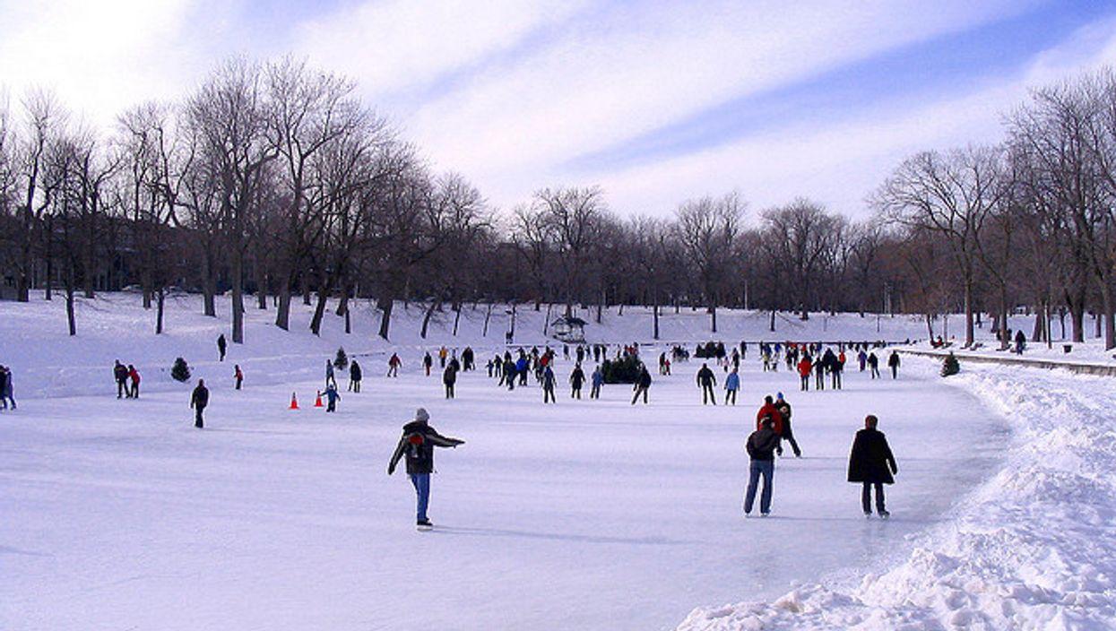 Les 11 plus belles patinoires naturelles au Québec