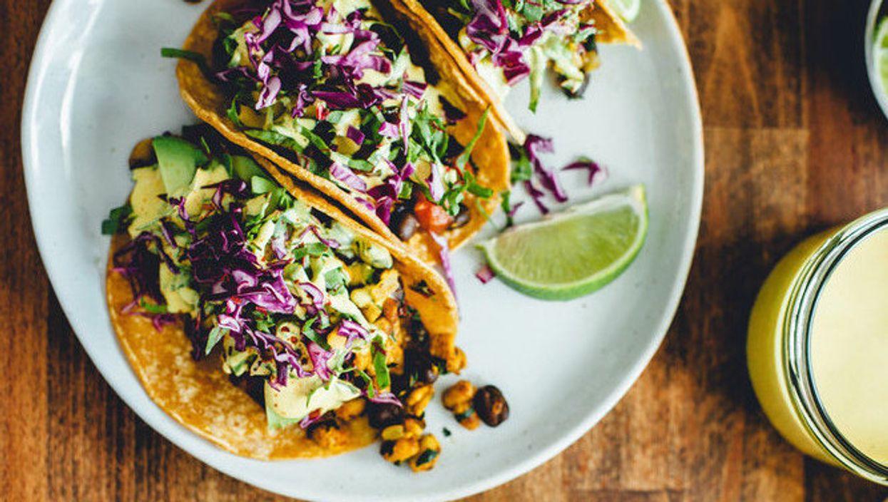 Tacos végétariens   Jour 7 de la semaine santé avec Narcity