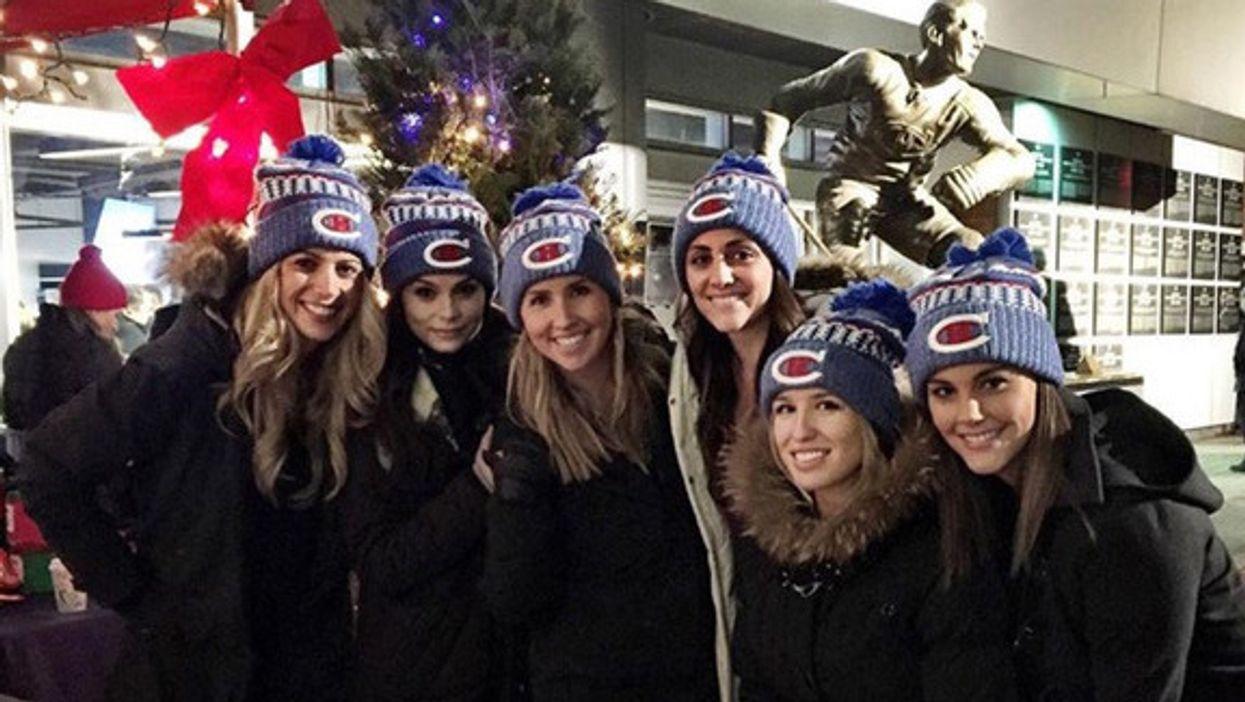 Les belles et jeunes blondes des joueurs du Canadien