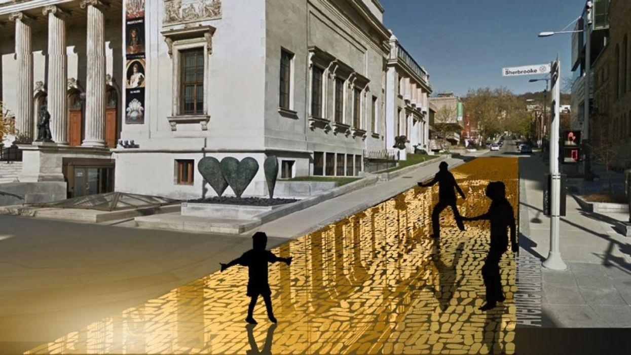 Une rue de Montréal se transformera en un plancher de danse en OR cet été!