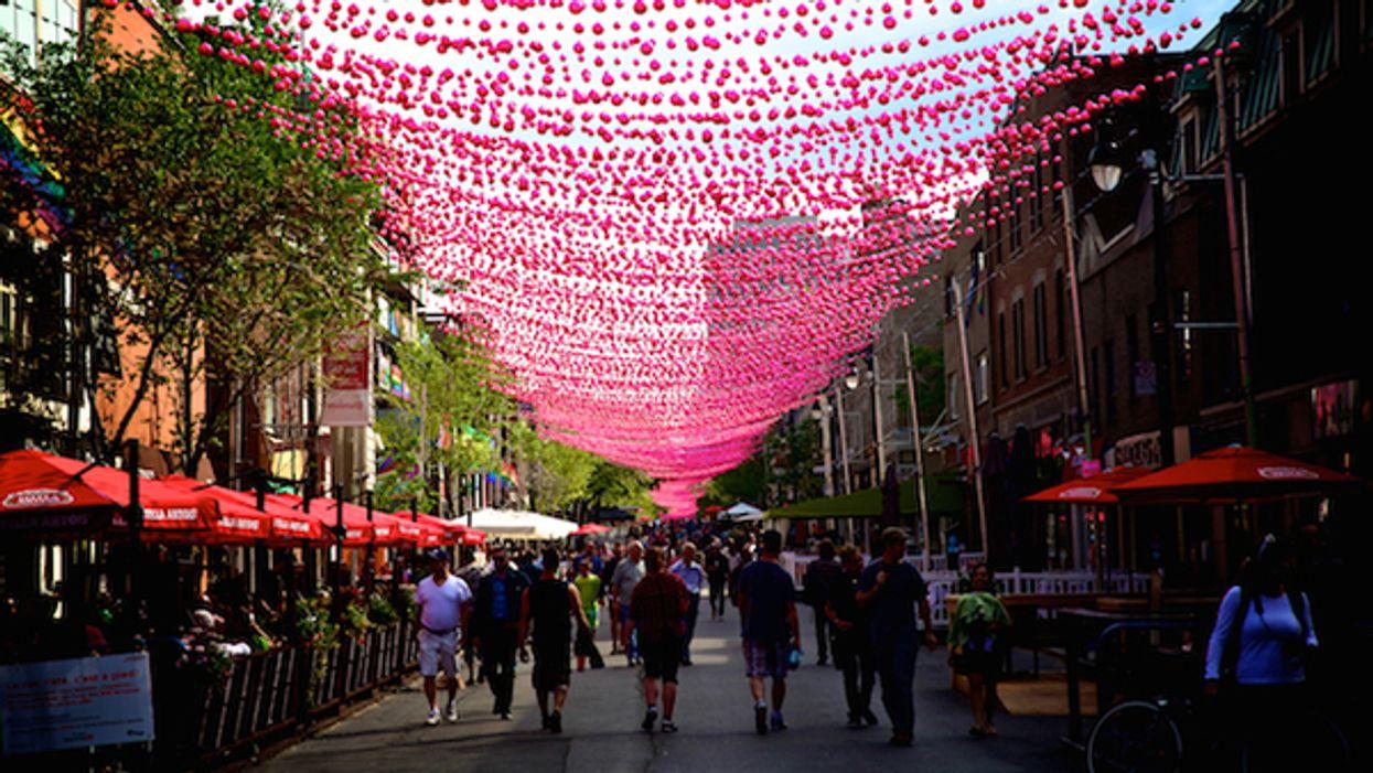 La rue Sainte-Catherine aura une terrasse de 1km cet été!